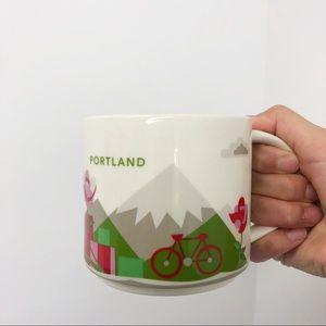 Starbucks Portland Oregon Collectable Coffe Cup